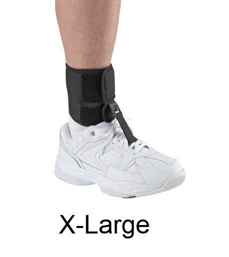 Ossur Foot Up - X-Large (black) - Ankle Circumference 10.5