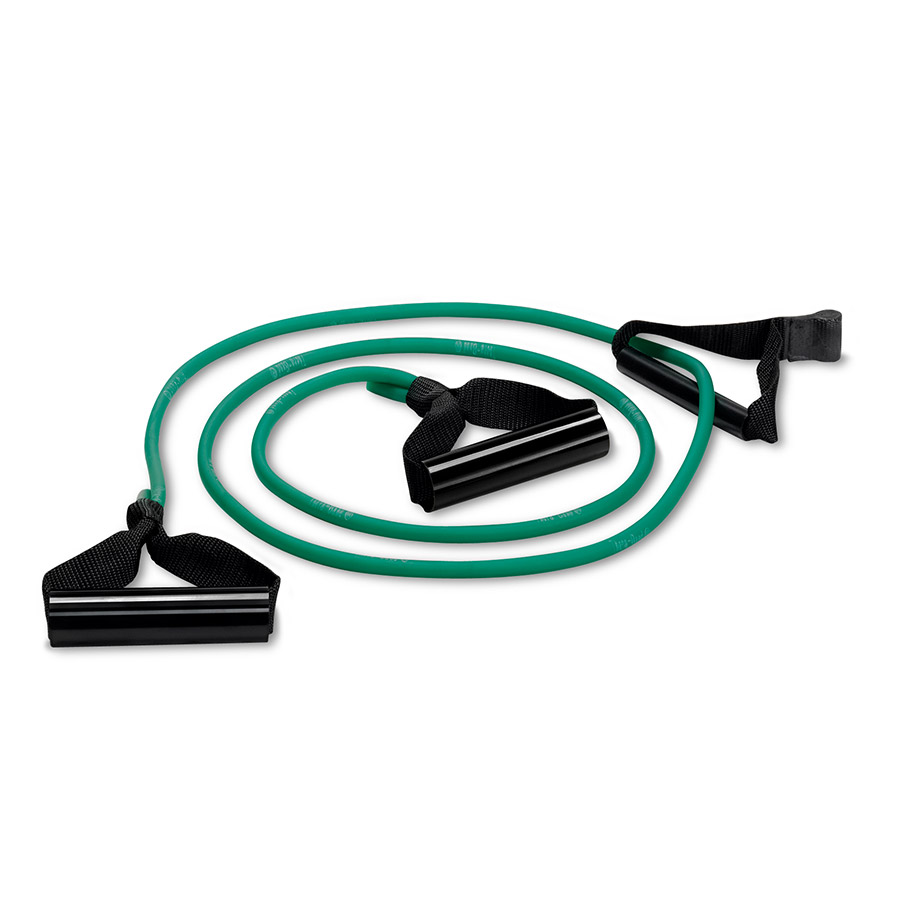 Bilateral 6' Tubing, Green - Medium (w/ RS Web Anchor Strap & EzChange Handles)