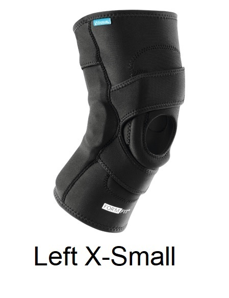 Ossur FormFit Knee Hinged Lateral J Brace - Left X-Small (13-15.5