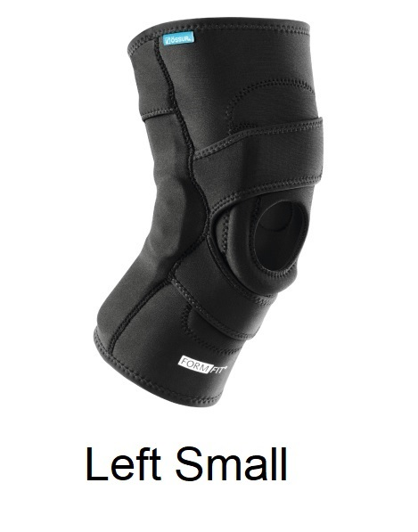 Ossur FormFit Knee Hinged Lateral J Brace - Left Small (thigh 15.5-18.5