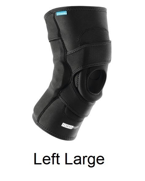 Ossur FormFit Knee Hinged Lateral J Brace - Left Large (21-23.5