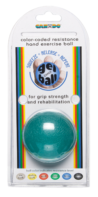 Cando® Gel Ball Hand Exerciser - Heavy - Blue