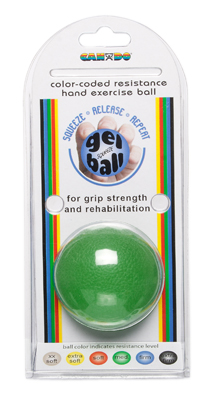 Cando® Gel Ball Hand Exerciser - Medium - Green