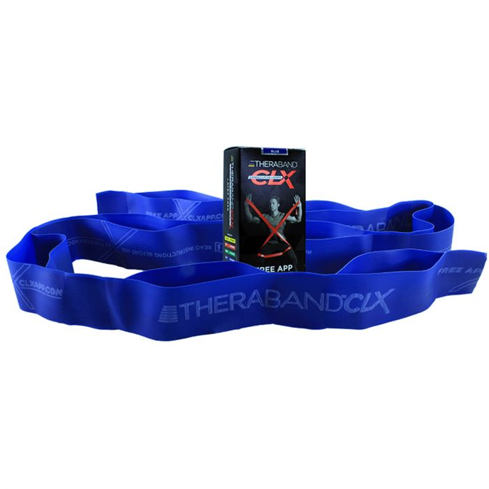 Thera-Band® CLX Consecutive Loops - Individual 5' Pre-Cut Band - Blue