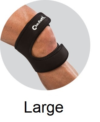 Cho-Pat® DUAL ACTION Knee Strap - Large 16
