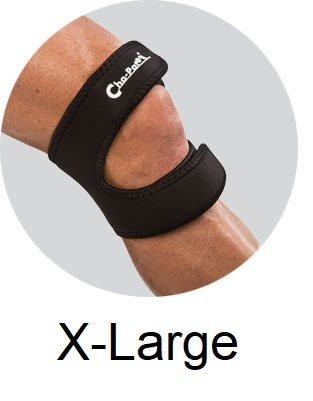 Cho-Pat® DUAL ACTION Knee Strap - X-Large 18