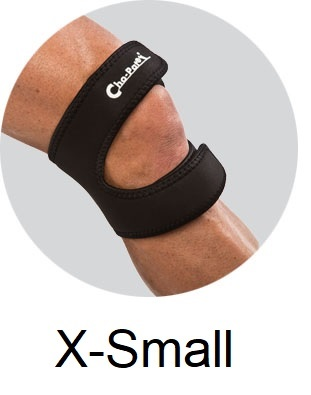 Cho-Pat® DUAL ACTION Knee Strap - X-Small (10