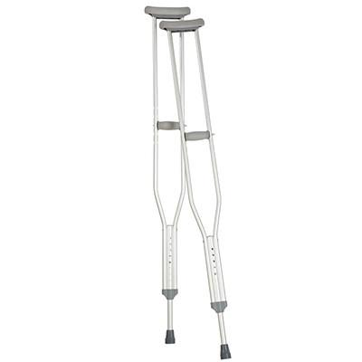 Aluminum Adjustable Crutches - TALL Adult  (for patient height 5' 10