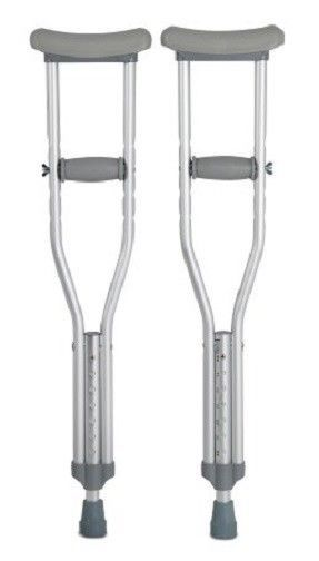 Aluminum Adjustable Crutches - YOUTH (for patient height 4'7