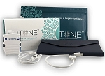 ELITONE pelvic floor muscle stimulator device, lead wire, USB charging cable, storage case & 2 Gel Pads (pk of 5)