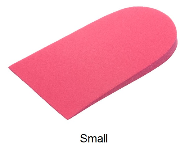 Formthotics 6mm Self-Adhesive Heel Raise (Red) - Small - Pkg of 5 pair