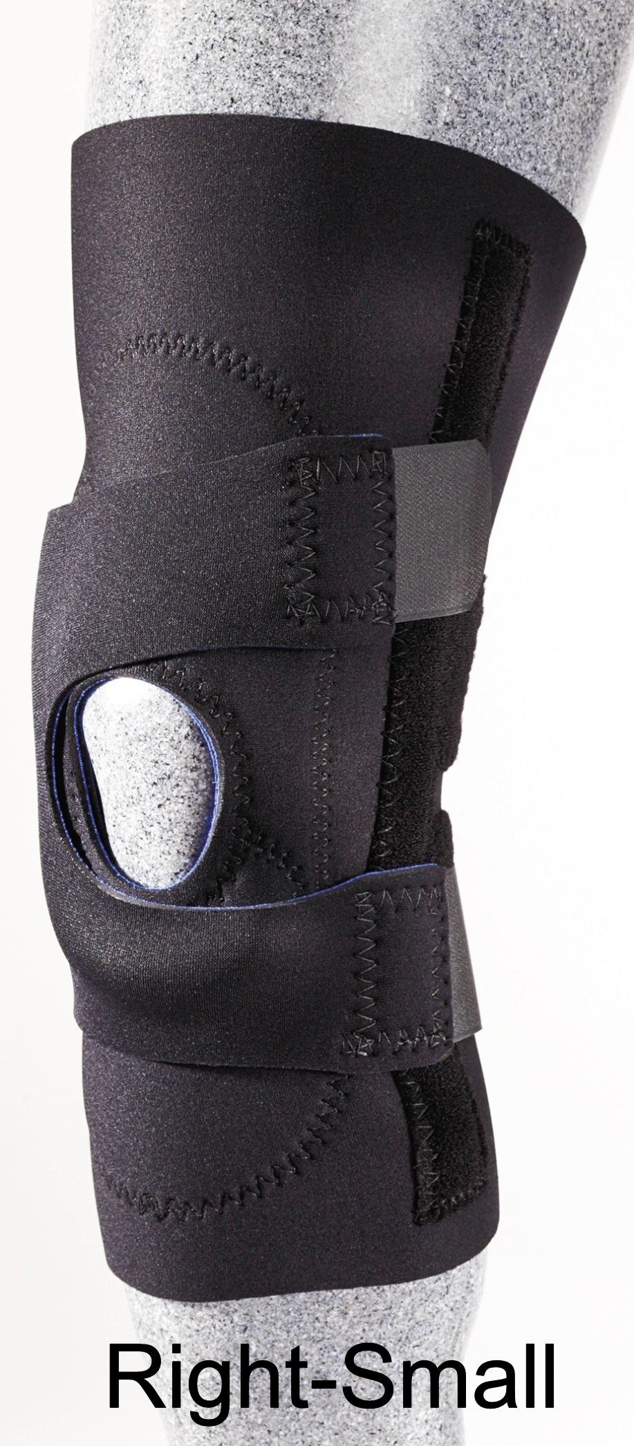 Patellar Stabilizer (J-Brace) with Pull Straps - Right - Small - (13