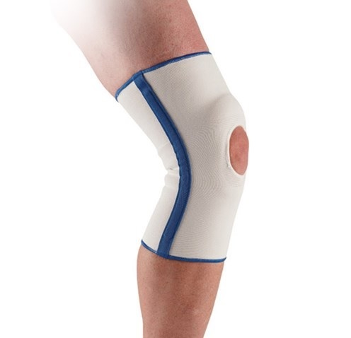 Ossur Premium Elastic Knee Support with Patellar Cutout - Large (18