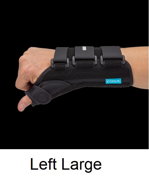Ossur Form Fit® Thumb Spica - Left - Large (Wrist Circ 8