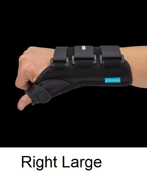Ossur Form Fit® Thumb Spica - Right - Large (Wrist Circ 8