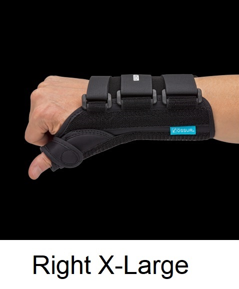 Ossur Form Fit® Thumb Spica - Right - X-Large (Wrist Circ 9