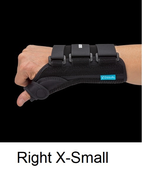 Ossur Form Fit® Thumb Spica - Right - X-Small (Wrist Circ 5.25