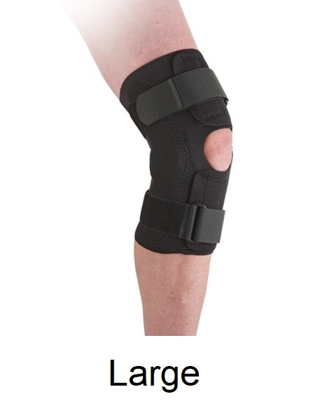 Ossur Neoprene Wraparound Hinged Knee Support - Large (15