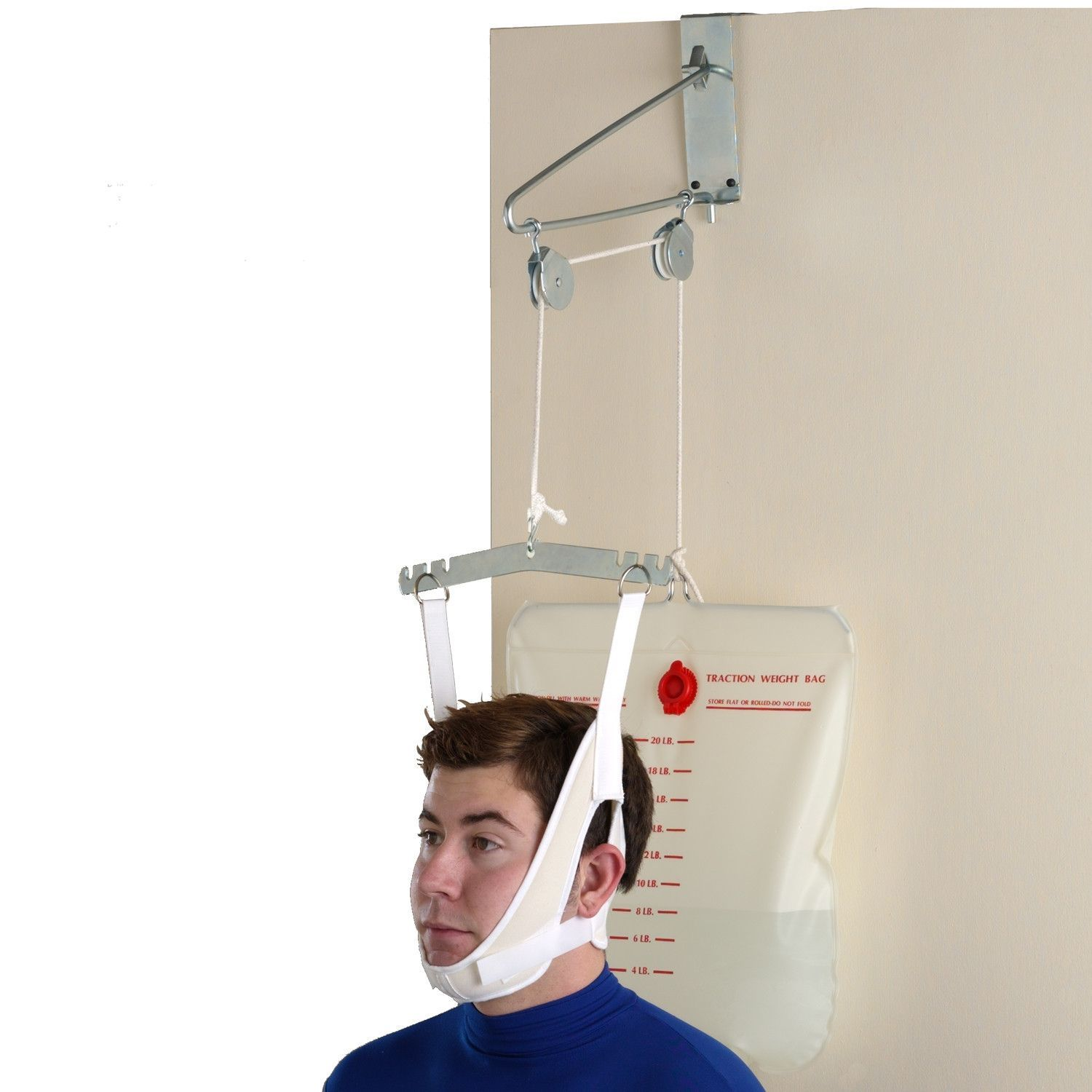 Over the Door Cervical Traction Unit - Home Use