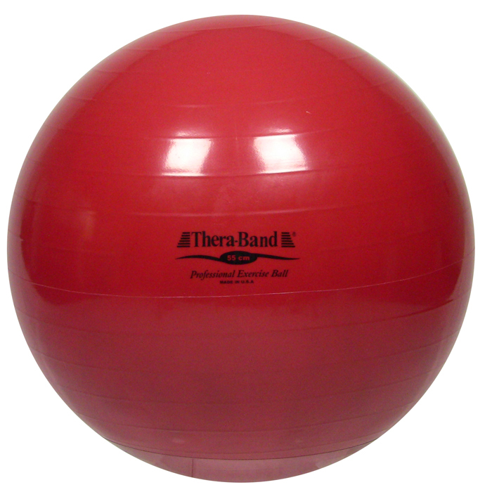 Thera-Band® Exercise Ball, 55 cm, Red