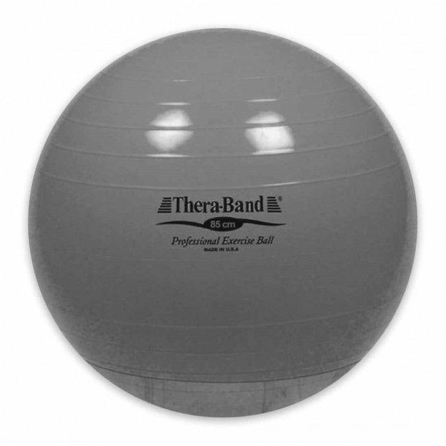 Thera-Band® Exercise Ball, 85 cm, Silver