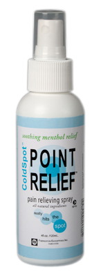 Point Relief® ColdSpot Topical Analgesic - 4 oz Spray