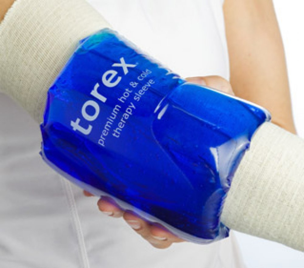torex ® Medium Sleeve Cold Pack  - For Arm, Elbow, Foot or Ankle  - For Limb Circumference between 10