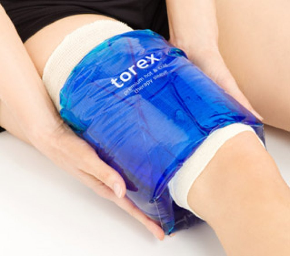 torex ® X-Large Sleeve Cold Pack (For Large Knee or Thigh)  - For Limb Circumference between 21