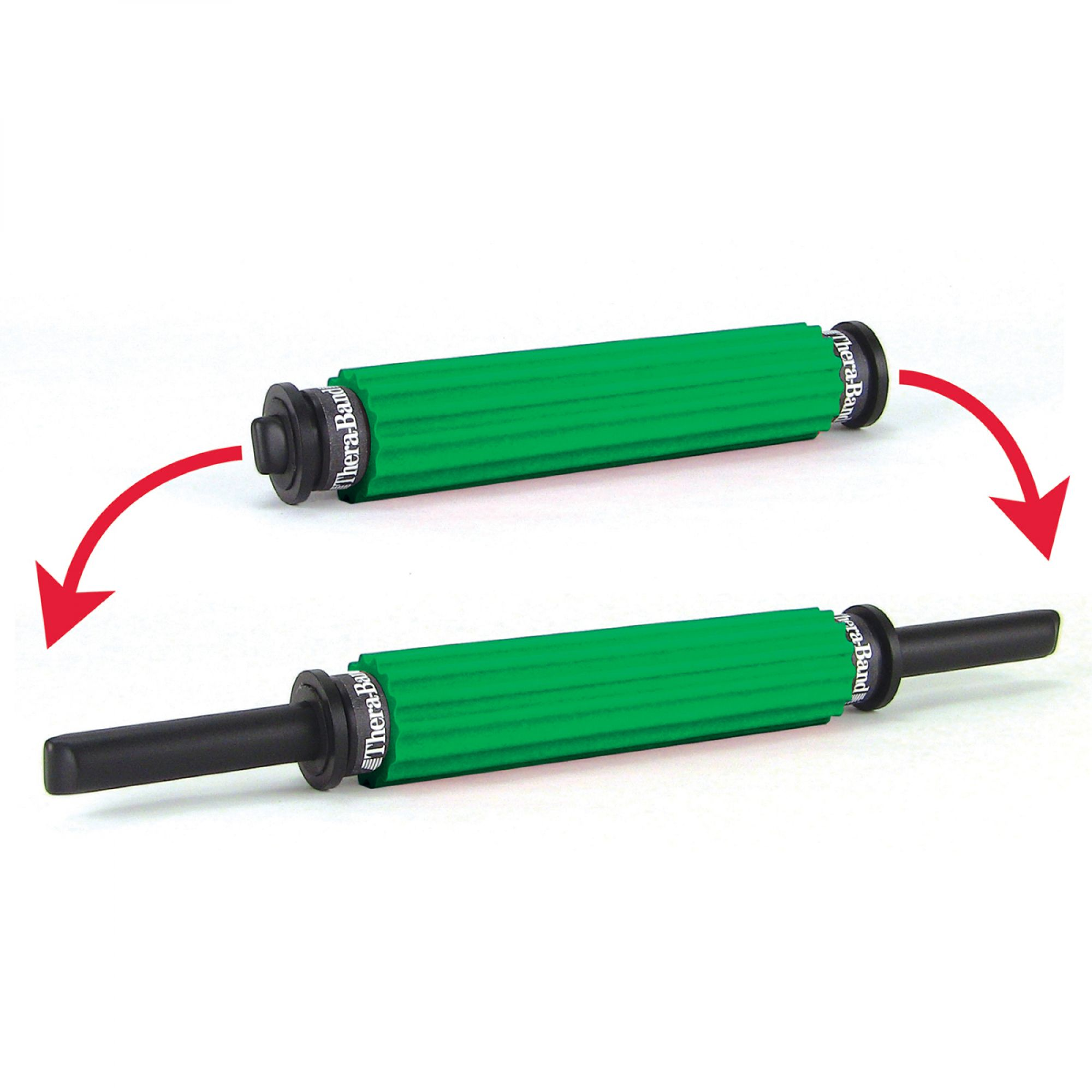 Thera-Band® Roller Massager - Portable, Green Ridged