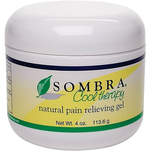 Sombra Gel Cool (Lemon Scent) 4 oz jar