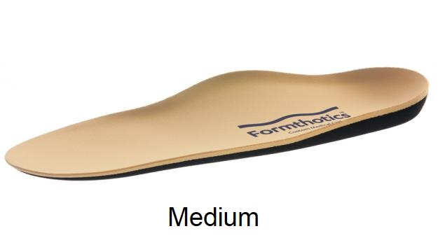 Formthotics Medical Original ShockStop - Medium (Camel/Black) - Men's 8 - 9, Women's 9.5 - 10.5