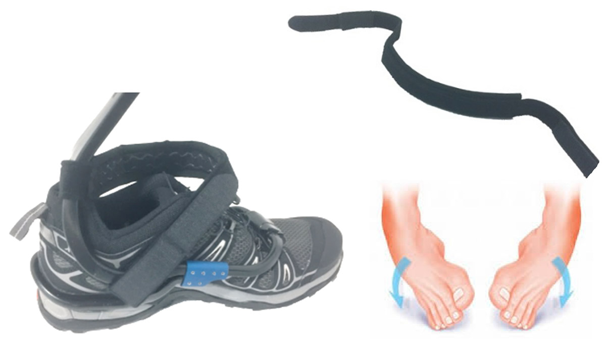TurboMed Xtern Ankle Stabilisastion Strap - SMALL/MEDIUM/LARGE