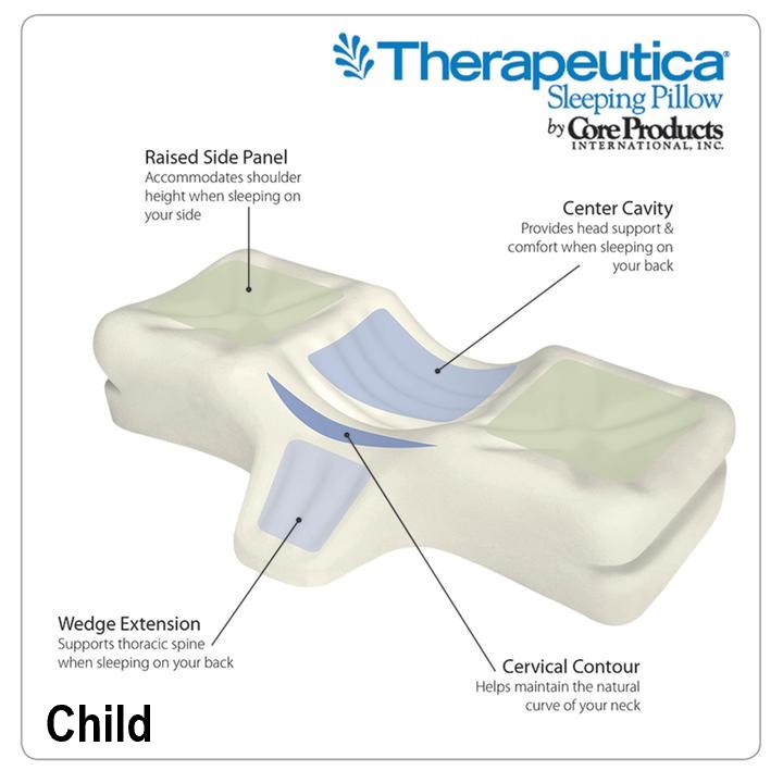 Therapeutica Cervical Sleeping Pillow - Child - 6-10 years old