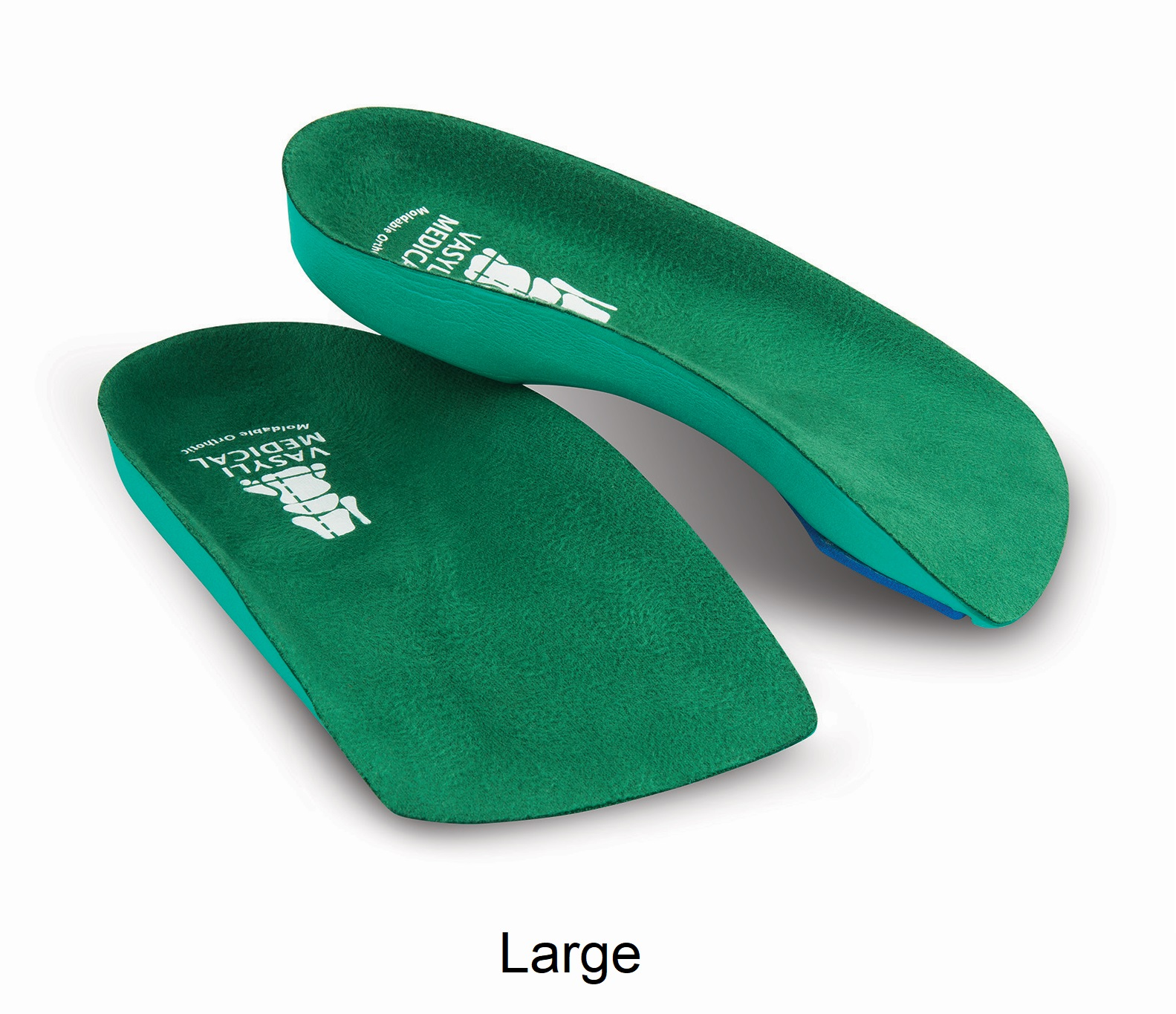 VASYLI 3/4-Length Custom GREEN (Soft Density) - Large - Men's 9.5 - 11, Women's 10.5 - 12