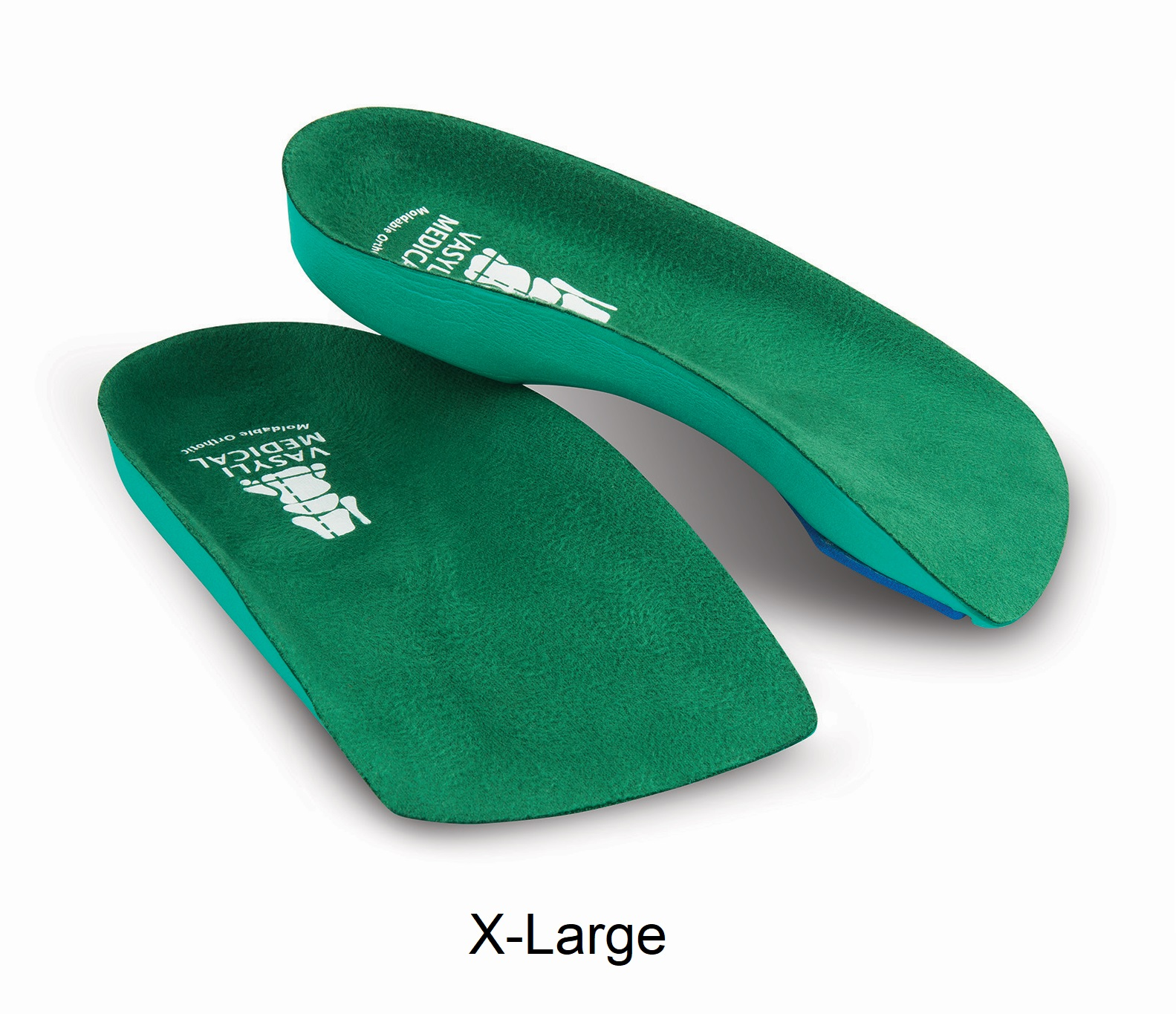 VASYLI 3/4-Length Custom GREEN (Soft Density) - X-Large - Men's 11.5 - 13