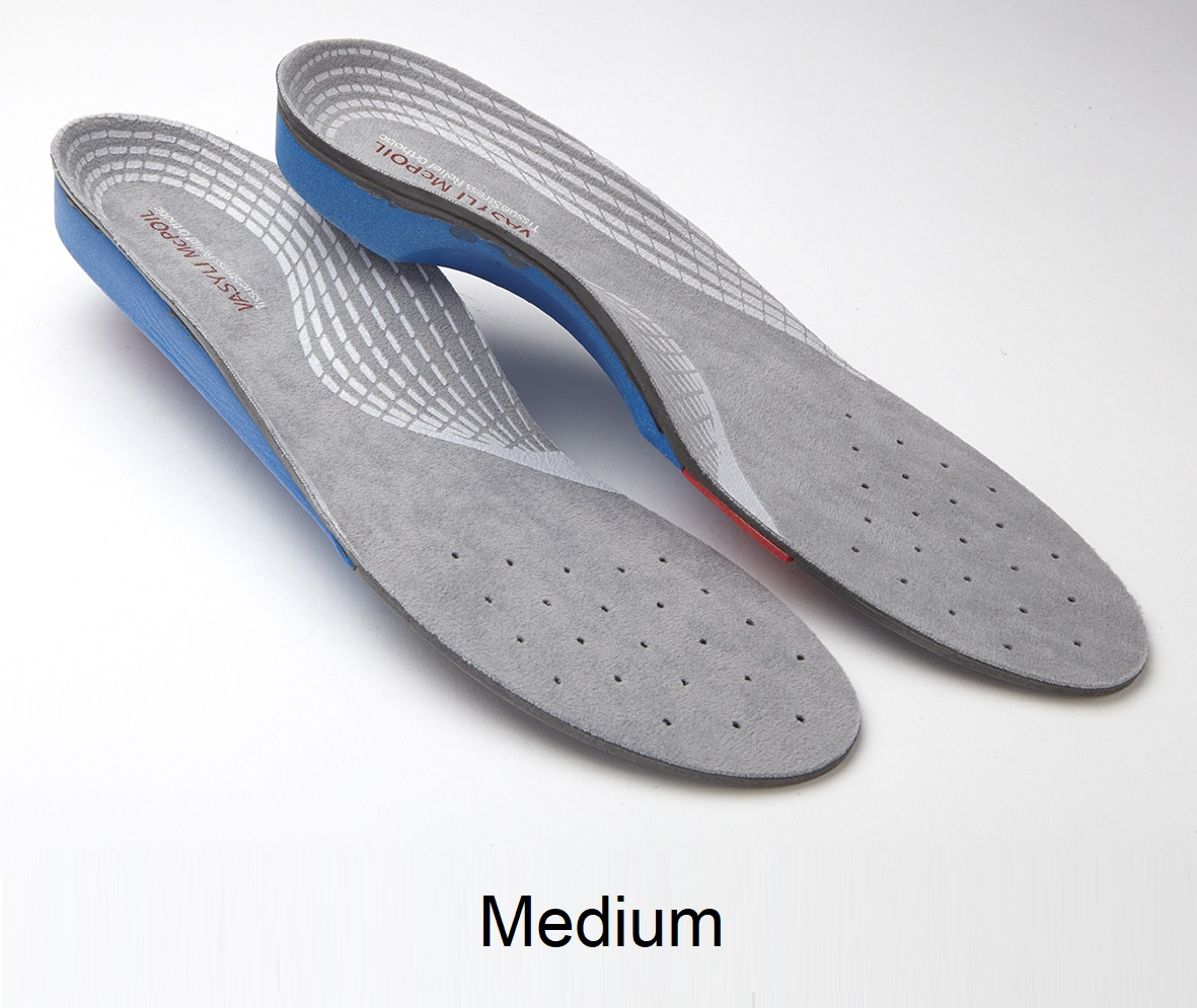 VASYLI + McPoil Sports Injury Recovery Orthotic - Medium - Men's 7.5 - 9, Women's 8.5 - 10