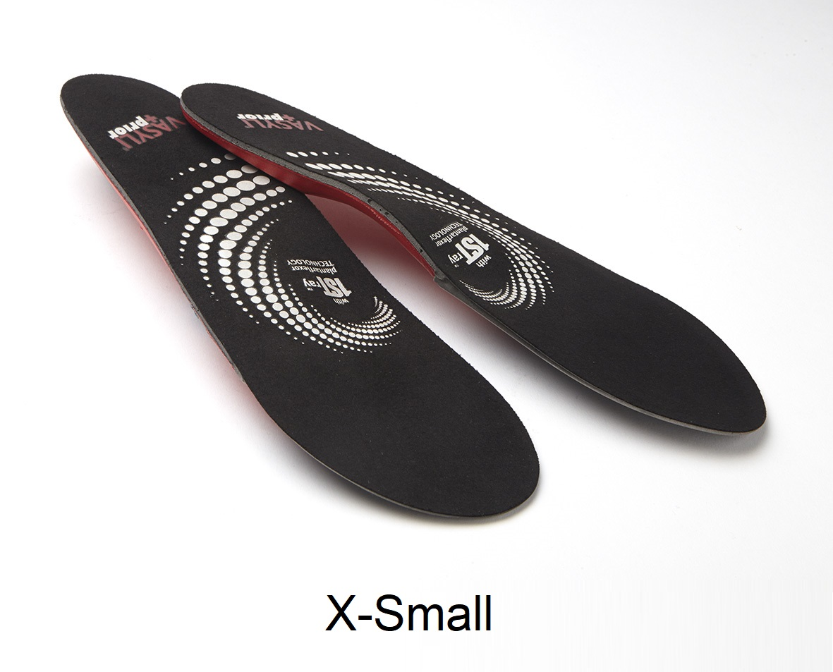 VASYLI + Prior Low-Profile Sports Orthotic - X-Small - Men's 3.5 - 5, Women's 4.5 - 6