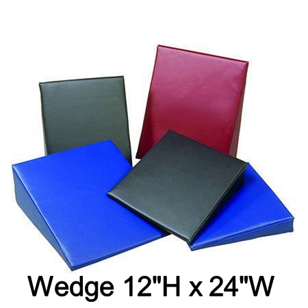 Naugahyde Wedge - 12