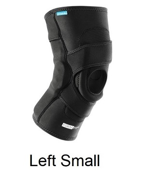 "Ossur FormFit Knee Hinged Lateral J Brace - Left Small (thigh 15.5-18.5"", knee 13-14"",  calf 12-14"")"