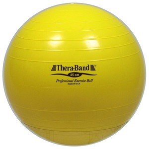 Thera-Band® Exercise Ball, 45 cm, Yellow